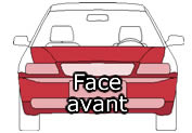 Face avant Jaguar S-type